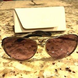 Michael Kors aviator sunglasses w/ case